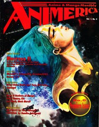Animerica First Issue – Macross II – November 1992