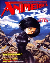 Animerica – Battle Angel – Japanimation – A. D. Vision – Mail Order – October 1993