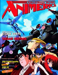 Animerica – Voyager Entertainment Star Blazers – Appleseed – 1st Mention of Evangelion – February 1995