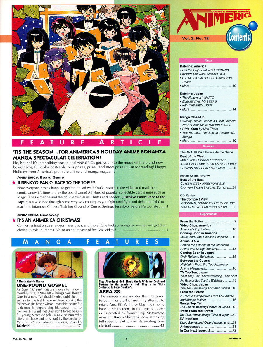 AnimericaIssue2_12-Contents