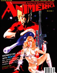 Animerica – Space Adventure Cobra Volume 4, Issue 1 – January 1996