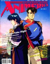 Animerica – Wings of Honneamise – Manga Ads – Cyber City Oedo 808 – May 1995