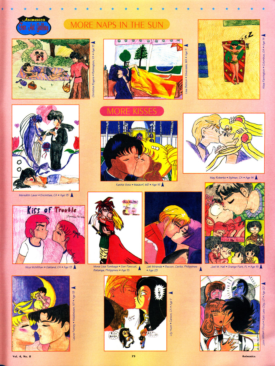 Animerica-Fan-Art-Anime-1996-Kissing-Sailor-moon