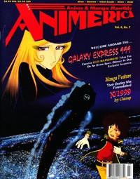 Animerica – Galaxy Express 999 – Leiji Matsumoto – Goldenboy – July 1996