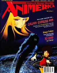 Animerica – Galaxy Express 999 – Leiji Matsumoto – Goldenboy – July 1996