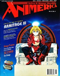 Animerica – Ani-Mayhem – Armitage III – Pioneer Anime – June 1996