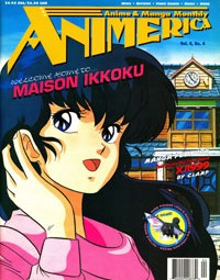 Animerica – Maison Ikkoku, Ghost In The Shell Theatrical, HyperDoll  – April 1996