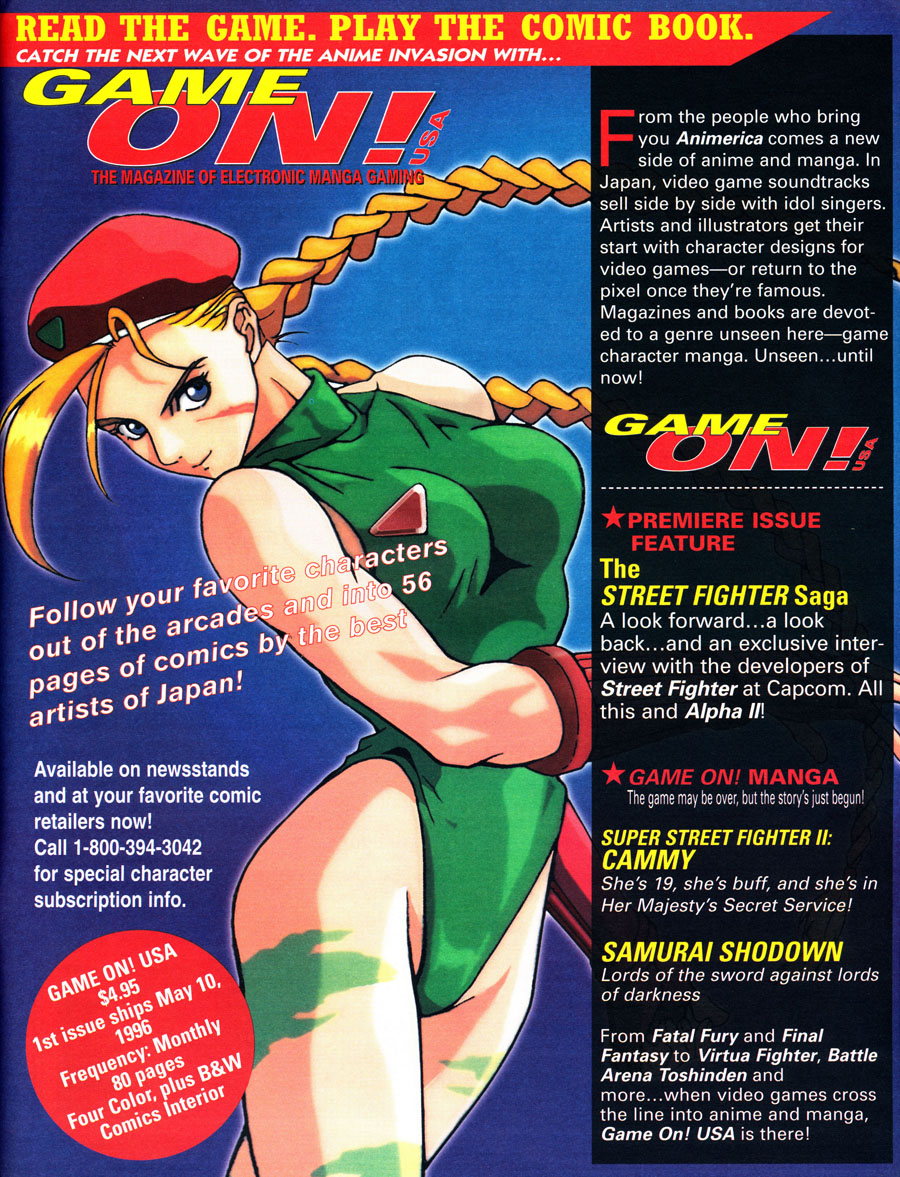 Game-On-Gaming-Magazine-Ad-Street-Figher-Cammy