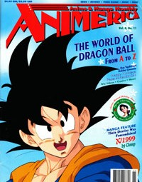 Animerica – Dragon Ball Z – FUNimation – Manga Video – November 1996