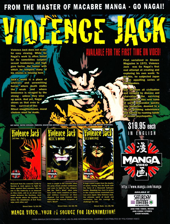 Manga-VHS-Violence-Jack-Go-Nagai
