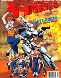 Animerica – Patlabor Mobile Police – Fatal Fury – Eagle Riders – October 1996