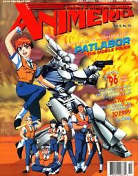 Animerica – Patlabor Mobile Police – Fatal Fury – Eagle Riders – October 1996