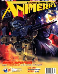 Animerica – Armored Trooper Votoms – Ani-Mayhem Anime Card Game – September 1996