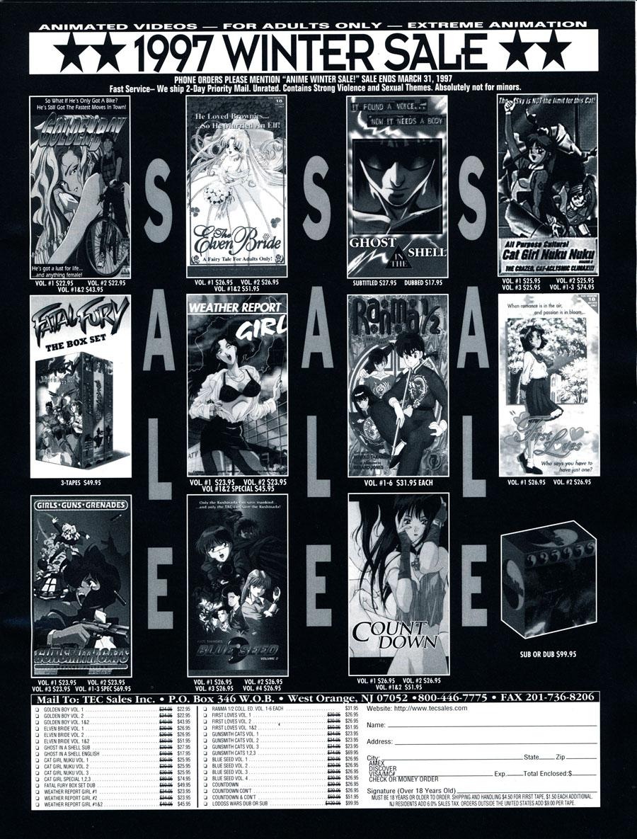 Adult-Anime-1997-VHS-Sale