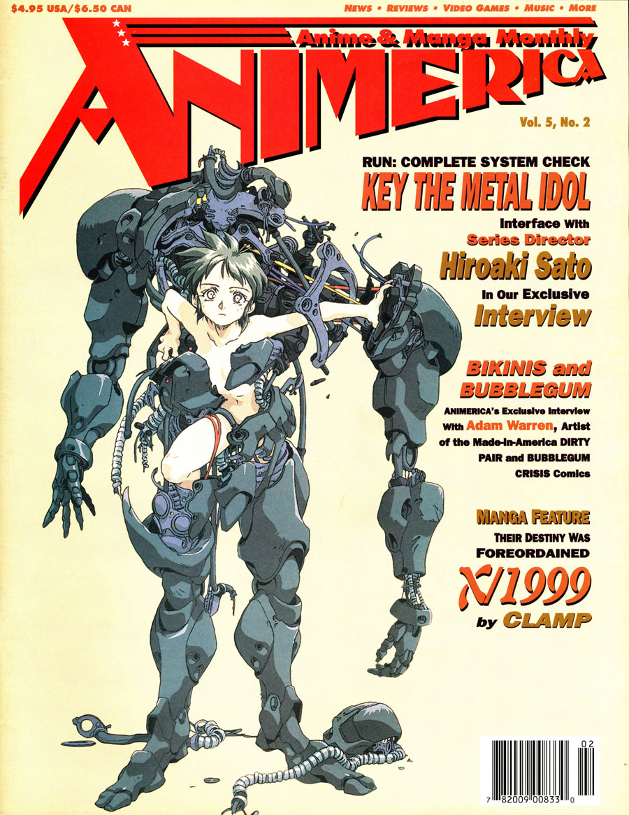 Animerica-February-1997-Key-The-Metal-Idol