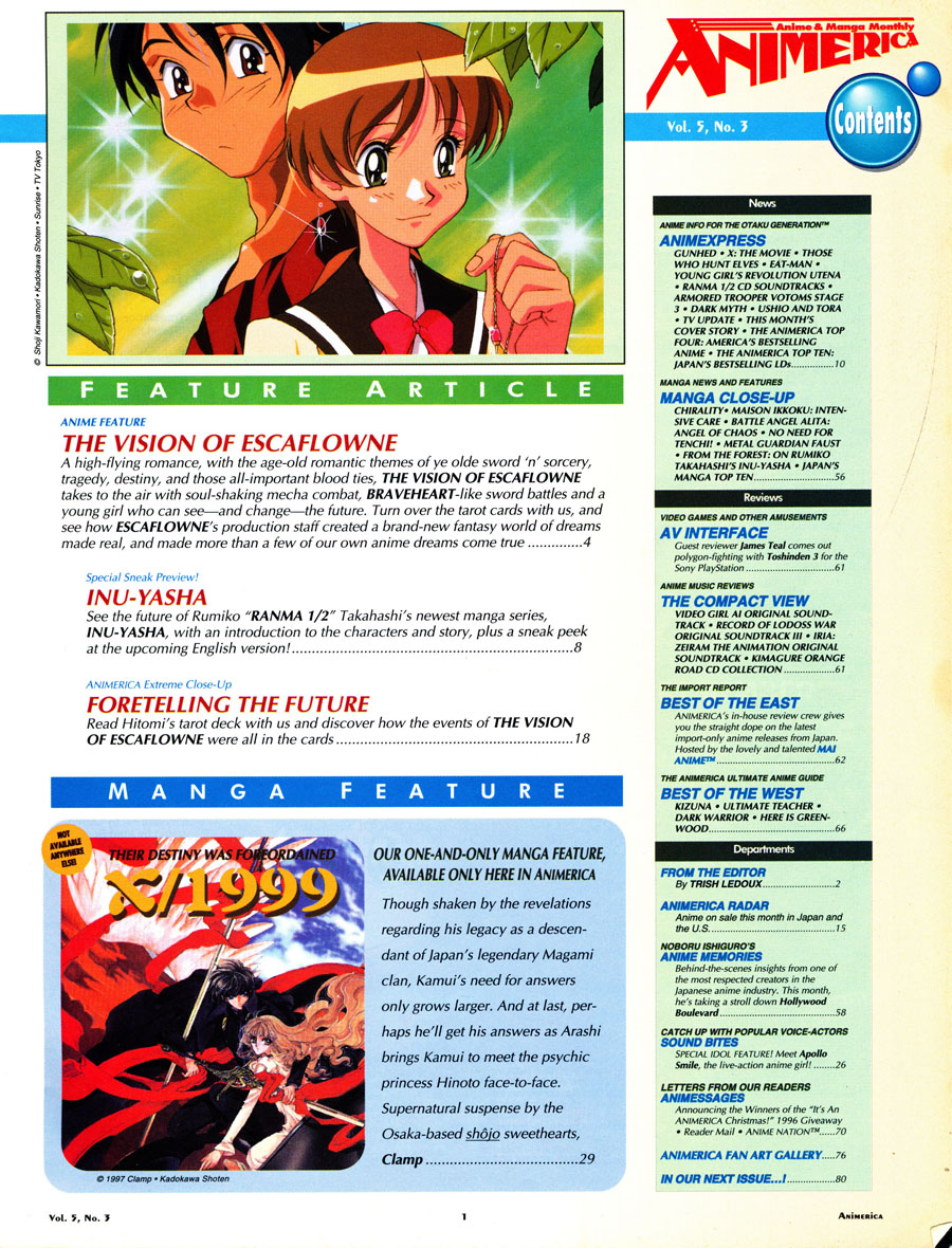 Animerica_March1994_Contents