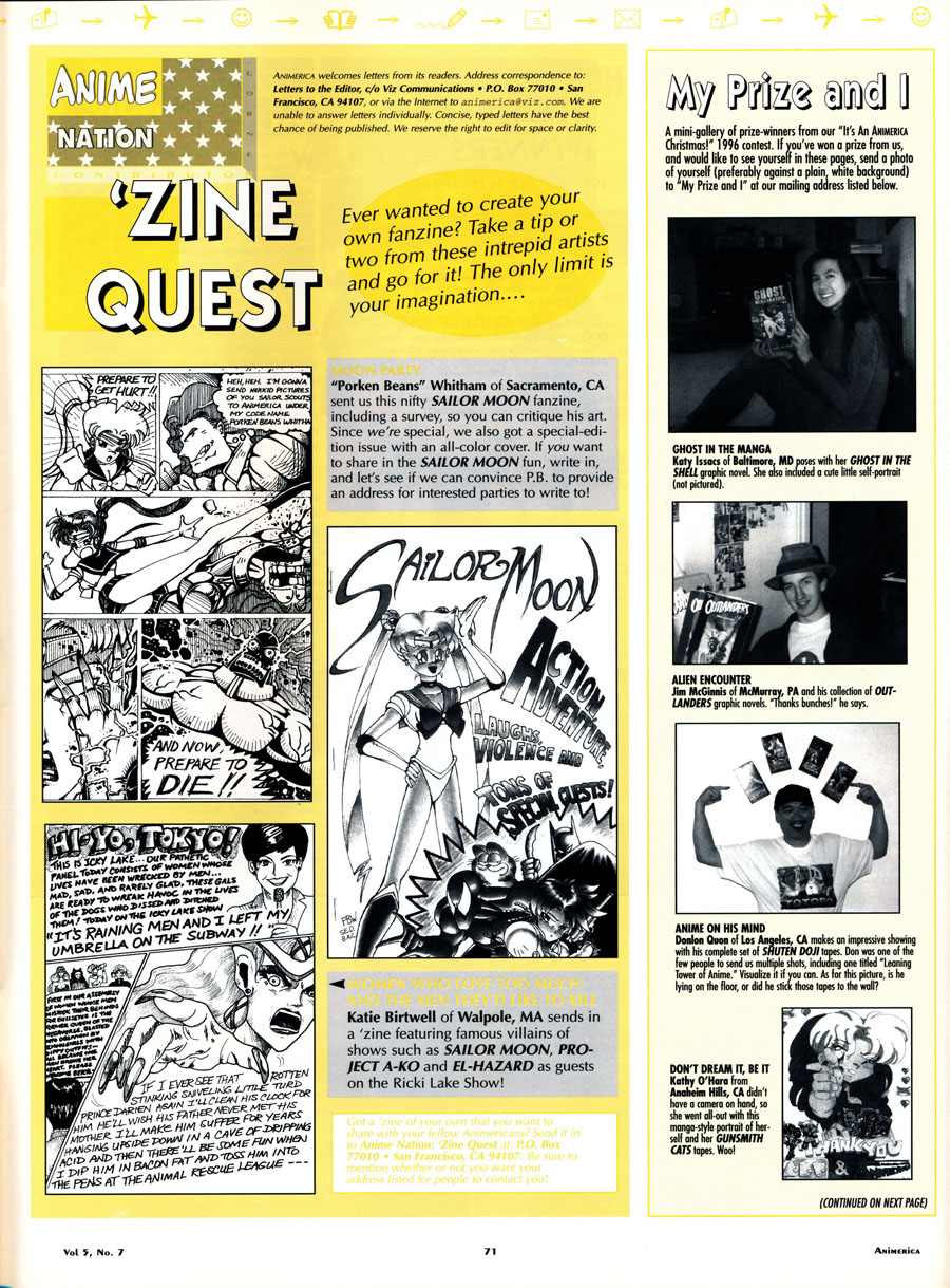Anime-Nation-Zine-Quest-July-1997