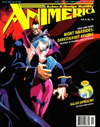 Animerica – Darkstalkers Morrigan – Kazou Yamazaki – Haruka Takachiho – Noburo Ishigura Panel Interviews – October 1997