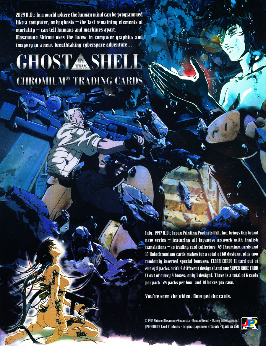 Ghost-In-The-Shell-Chromium-Trading-Cards-1997