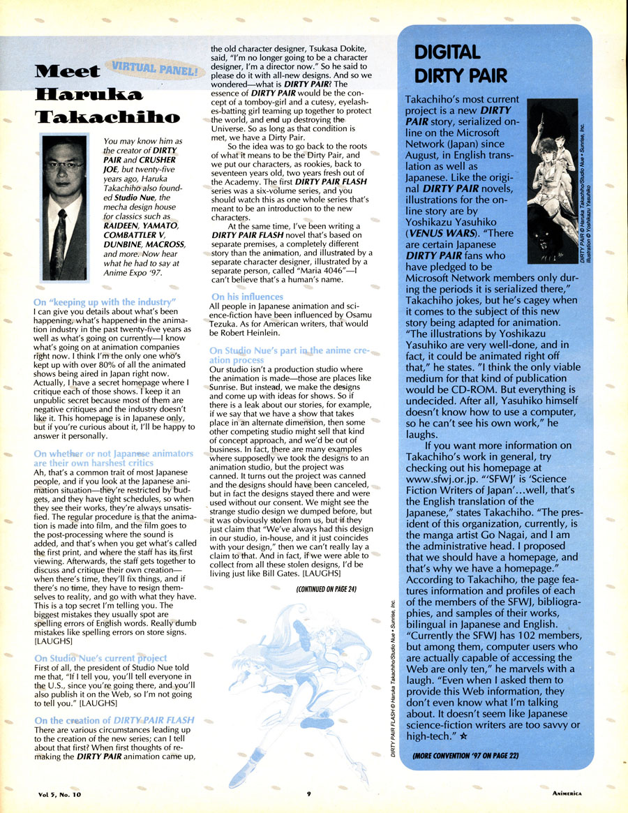 Haruka-Takachiho-interview-Dirty-Pair-Chrusher-Joe