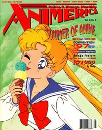 Animerica – Sailor Moon – Anime Convention Season – Katsucon – Katsuhiro Otomo Steamboy – August 1997
