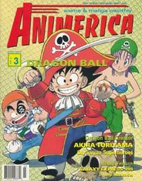 Animerica March 1998 Akira Toriyama & FUNimation Interview – Dragon Ball Z – Vol 6 No 3