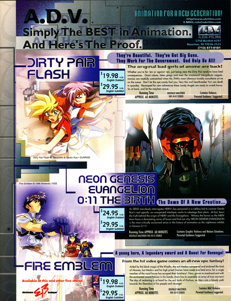 ADV-Dirty-pair-flash-fire-emblem-neon-genesis-evangelion