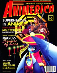 Animerica – 15th Anniversary of Superdimensional Fortress Macross – Sailor Moon RPG – Big Eyes Small Mouth – June 1998