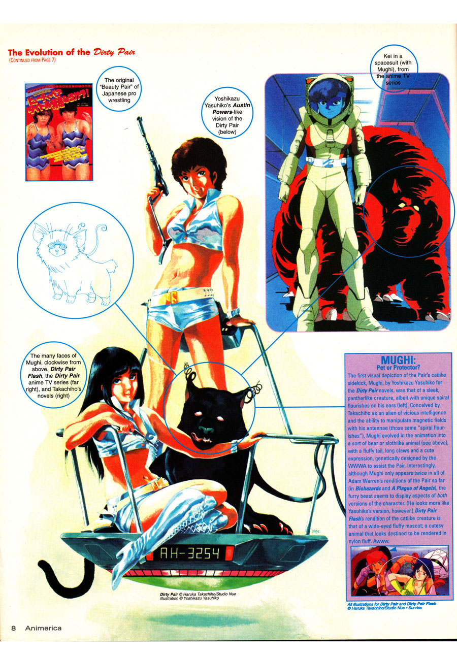 Dirty-Pair-Beginnings-History