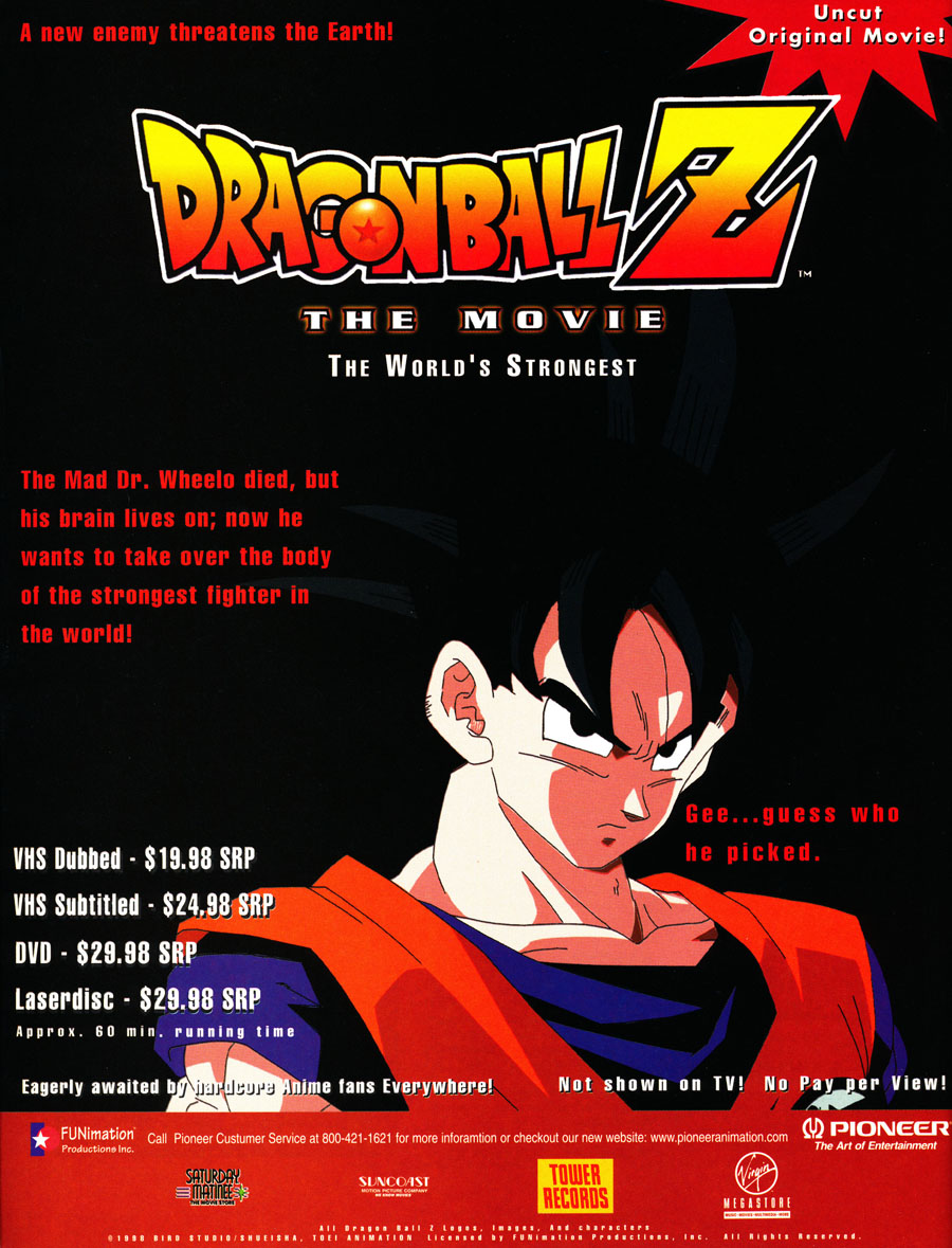 Dragon-Ball-Z-Worlds-Strongest-movie-DVD-VHS-Laserdisc-uncut