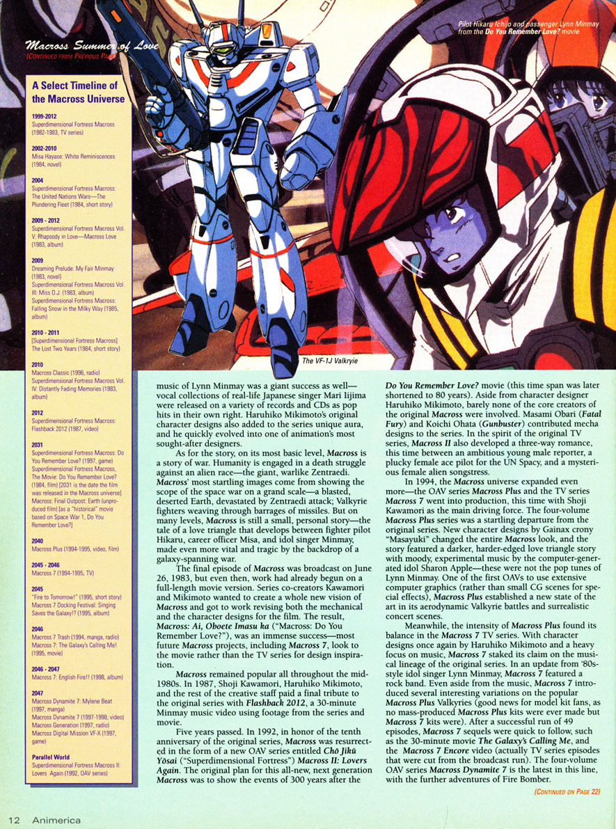 Timeline-of-Superdimensional-fortress-macross-universe