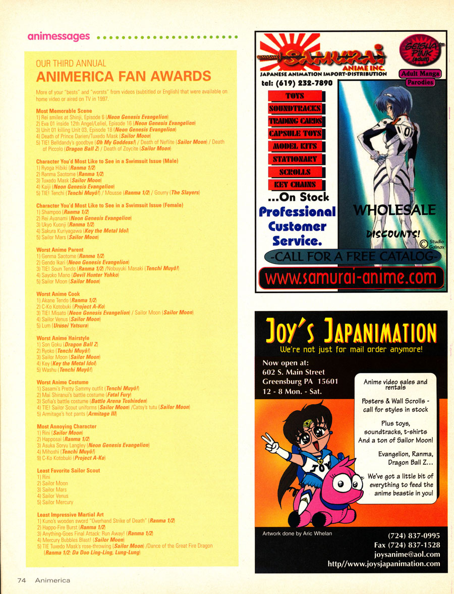 1998-Animerica-Fan-Awards-ANime