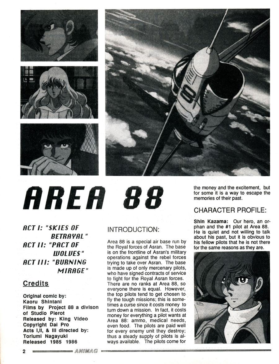 Animag-Area-88-Anime-Description