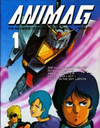Animag – 1987 Anime Magazine – First Issue – Mobile Suit Zeta Gundam – Area 88
