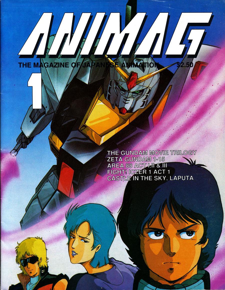 Animag-First-Issue-Anime-Magazine-1987-Zeta-Gundam