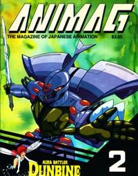 Animag – Aura Battler Dunbine – Issue 2 -1987