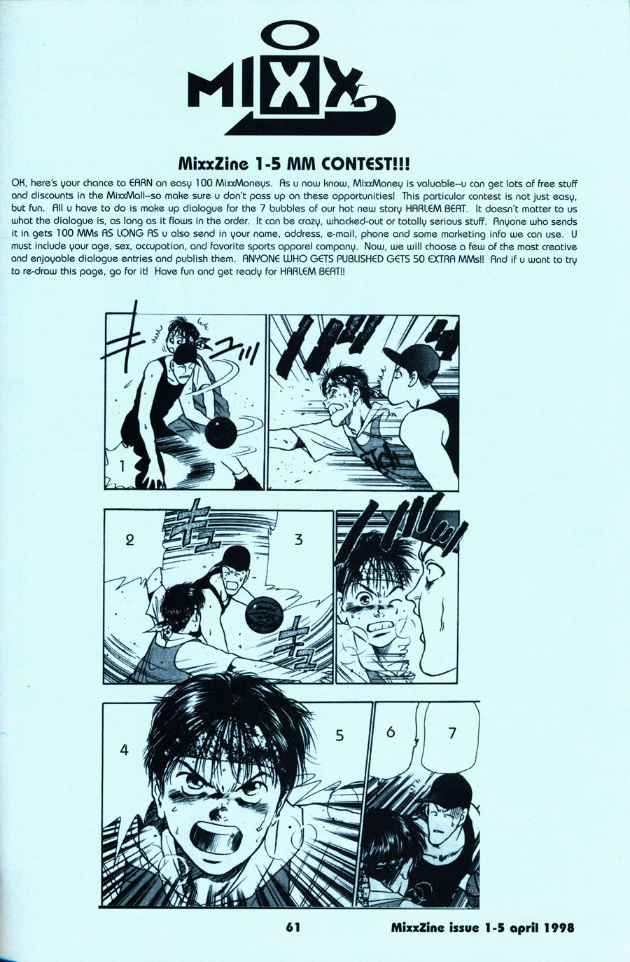 Harlem-beat-manga-mixx-zine