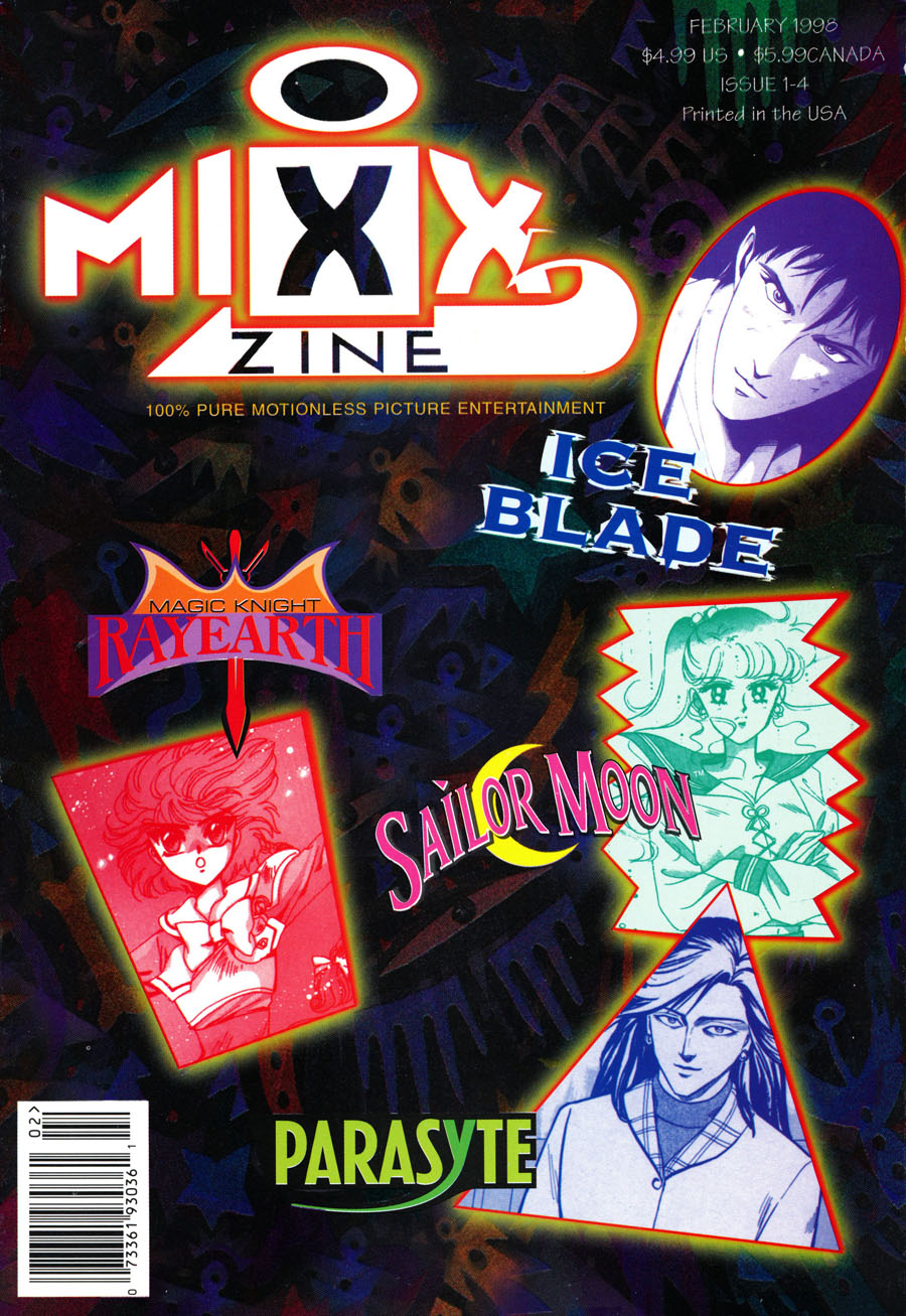 MixxZine-Manga-February-1998-Issue-4-Sailor-Moon