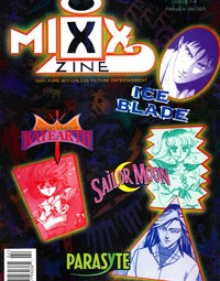 Mixx Zine Manga Magazine – Sailor Moon Video Game and Oh So '90s – February 1998