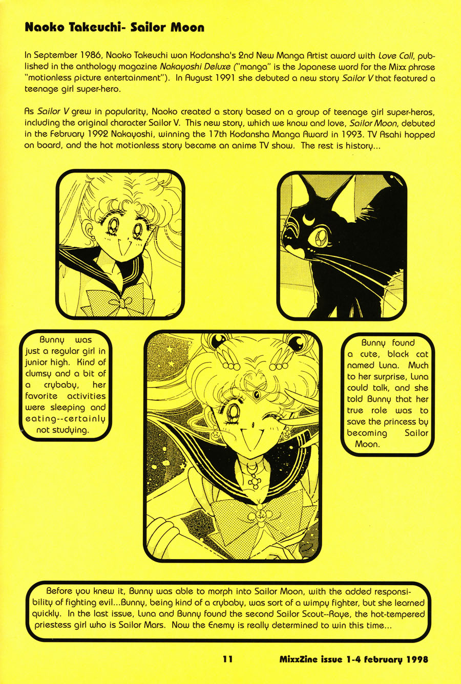 Naoko-Takeuchi-Sailor-Moon-MixxZine