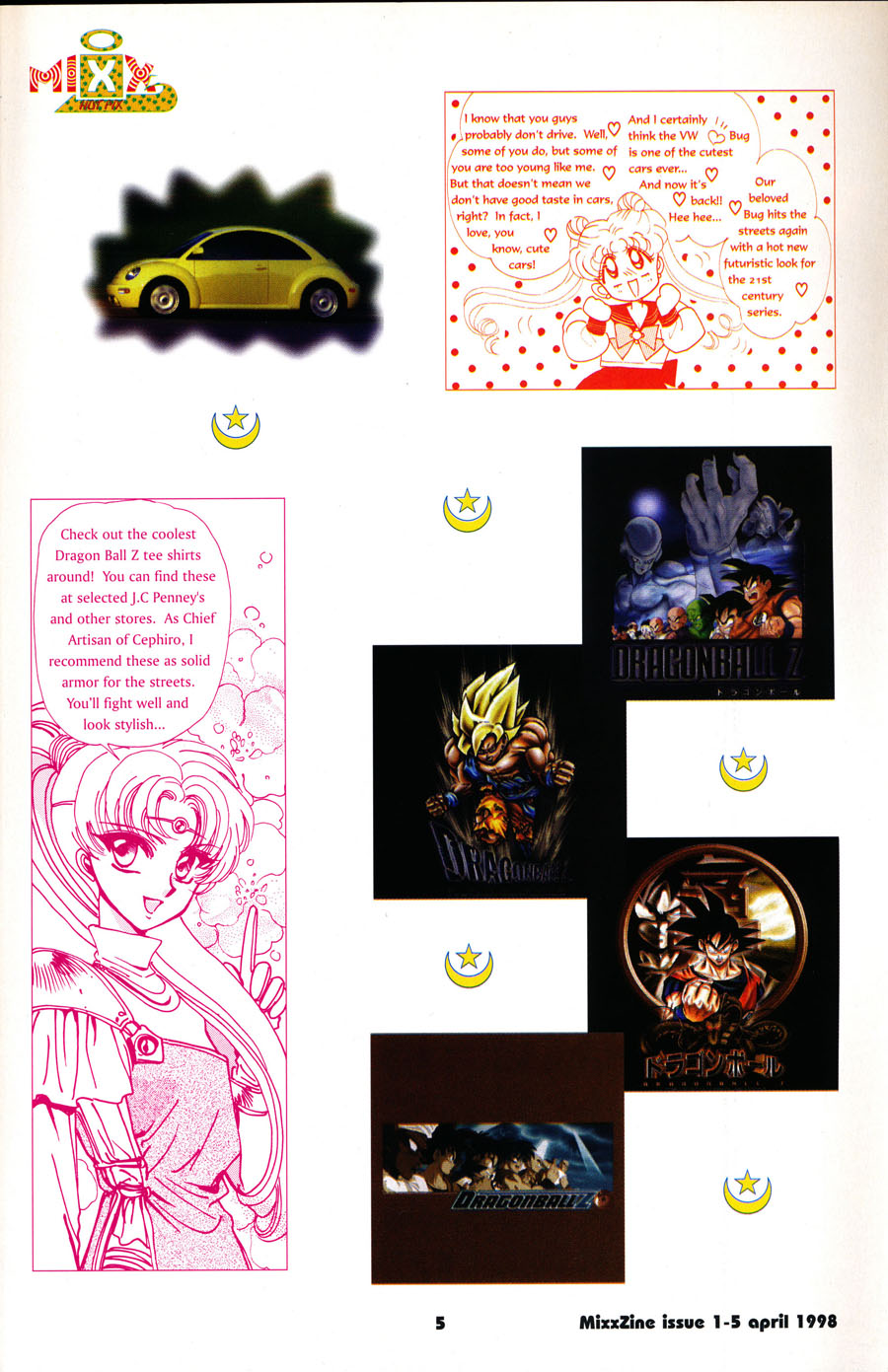 mixx-zine-dragon-ball-z-shirts-sailor-moon