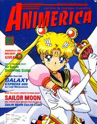 Sailor Moon SuperS Sailor Stars – Animerica November 1998 – Escaflowne