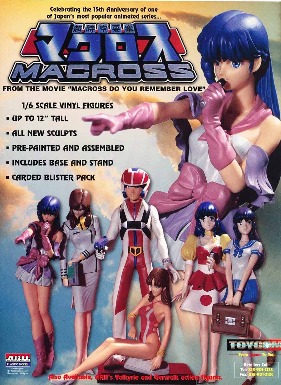 Macross-do-you-remember-love-figures-movie