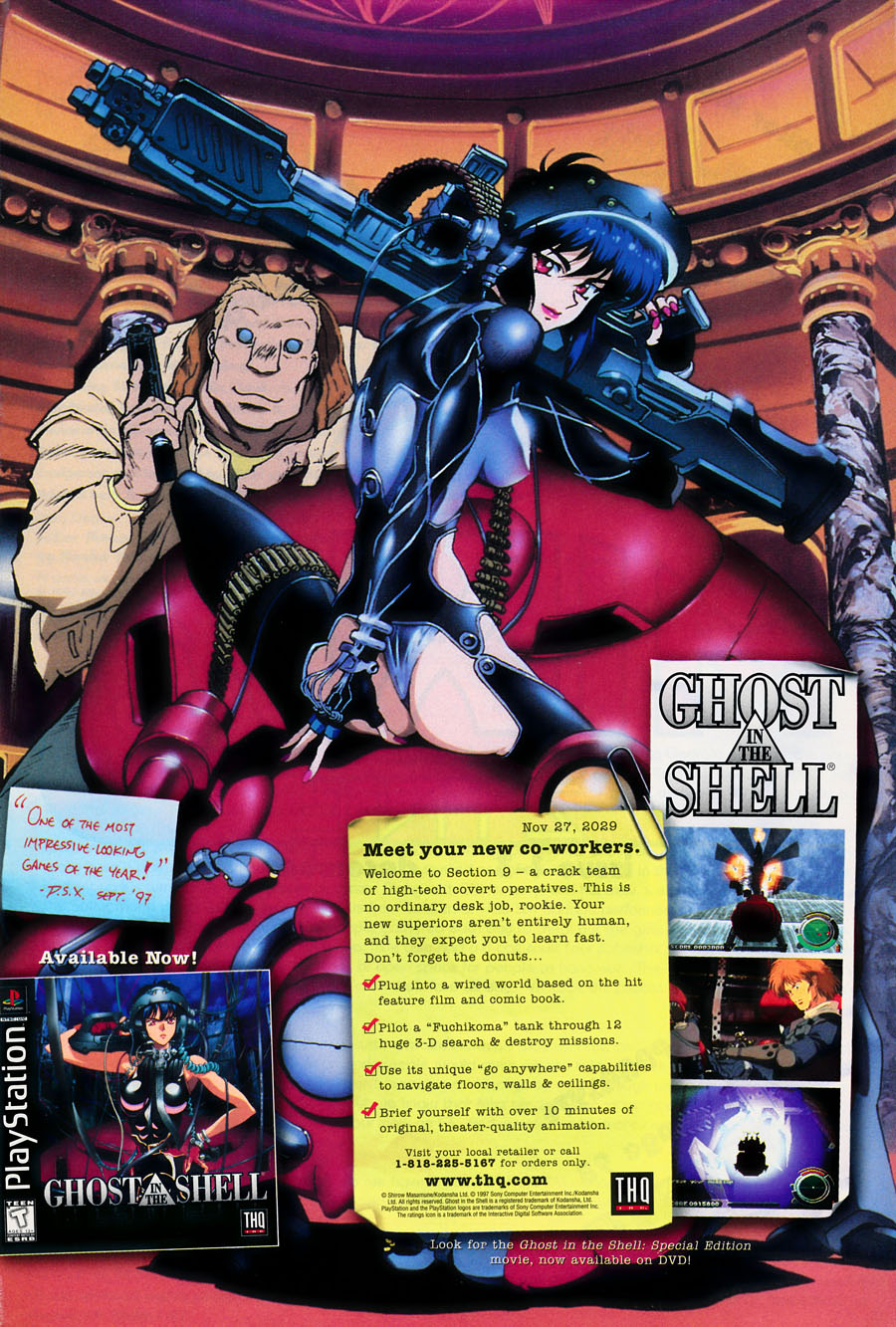 Ghost-in-the-shell-playstation-console-video-game-THQ-Issue-3-December-1997