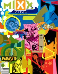 Mixx Zine – First Issue Manga – Sailor Moon, Magic Knight Rayearth, Parasyte, Ice Blade
