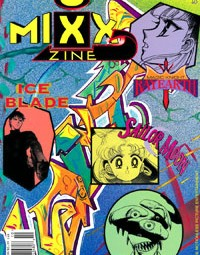 Mixx Zine – Issue 1-2 – October 1997 – Sailor Moon & Magic Knight Rayearth Manga Magazine