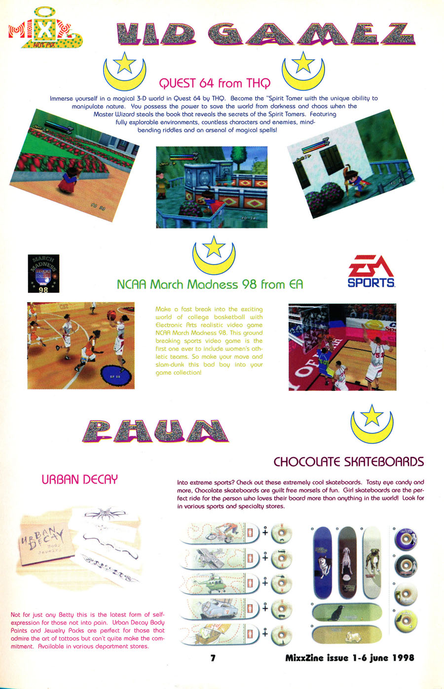 mixx-zine-video-games-products