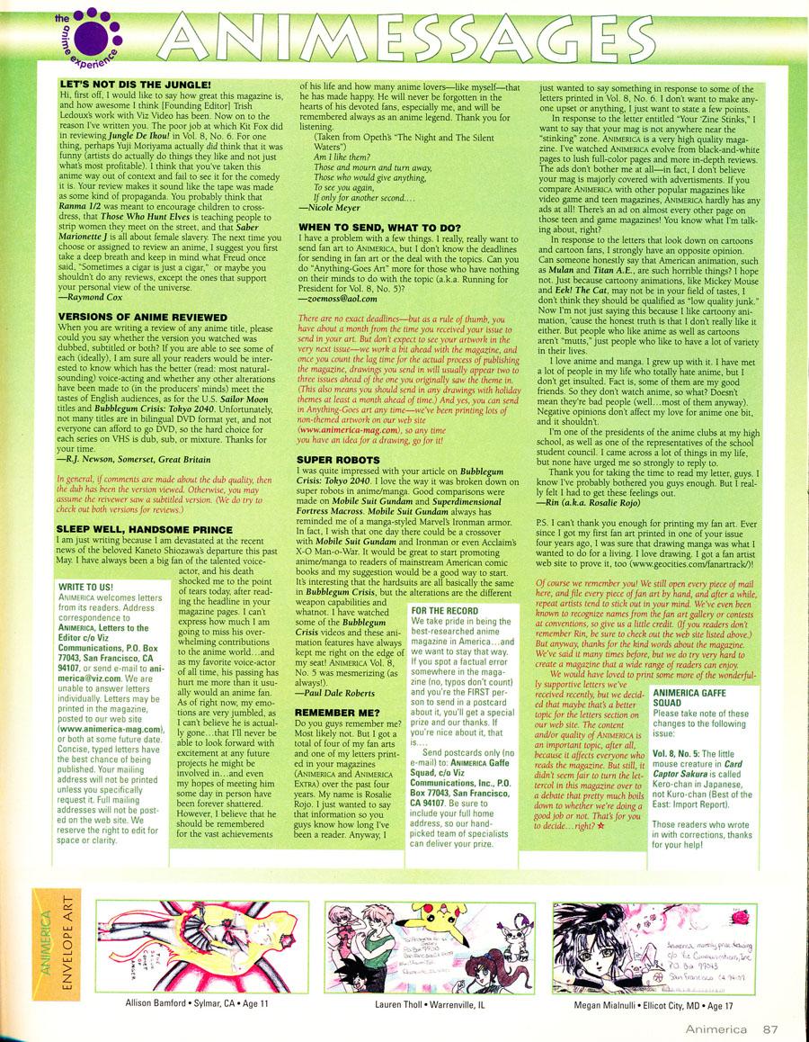 Animessages-fan-letters
