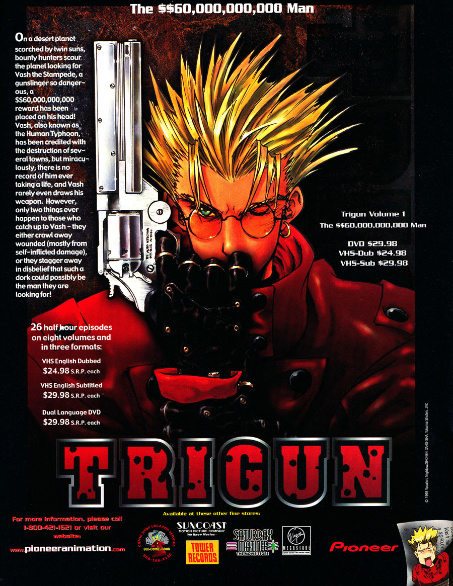 Trigun-vash-stampede-pioneer-vhs-dvd