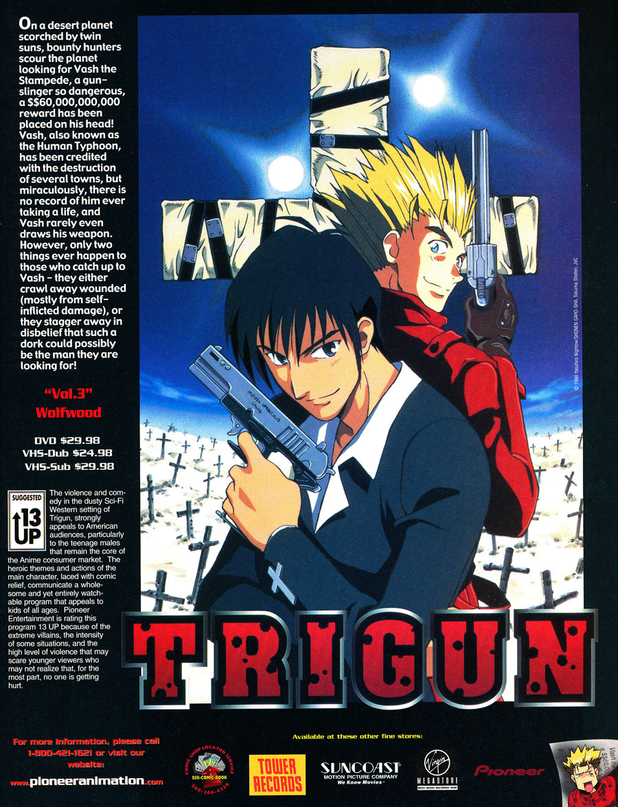 Trigun-wolfwood-dvd